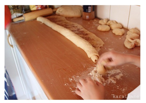 Making pulla with grandma