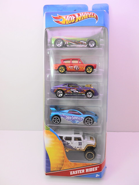 hot wheels easter 5 pack  (1)