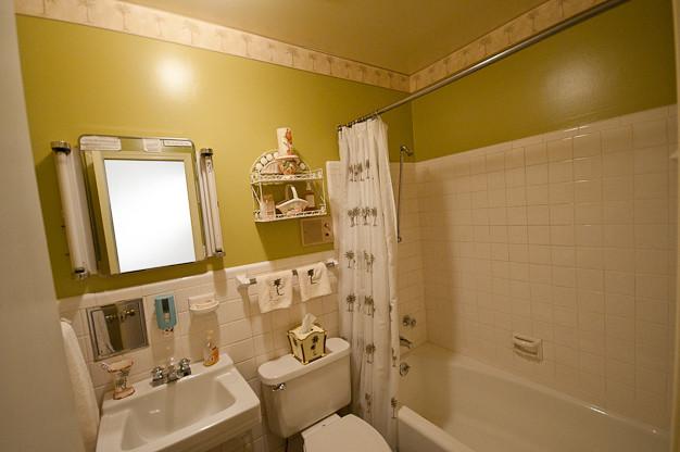 Before: Hall Bathroom