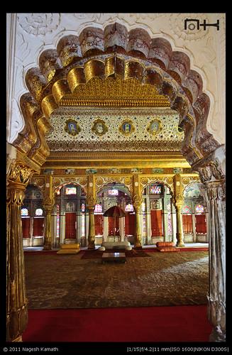Phool Mahal in Meherangarh
