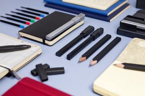 Moleskine Pencils, Roller Pens, Slip-on grips