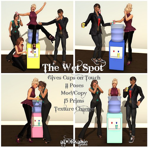 aDORKable Poses: The Wet Spot