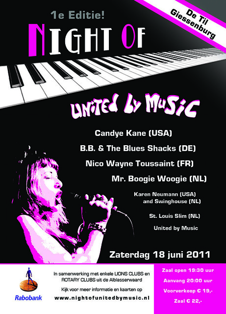 Night Of United By Music 2011 (Poster)