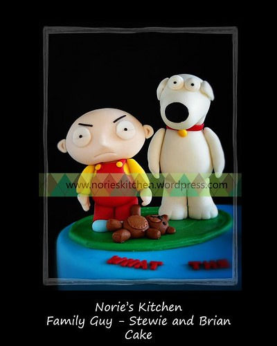 Norie's Kitchen - Family Guy - Stewie and Brian Cake