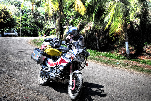 KLR 650 Trip Panama 7
