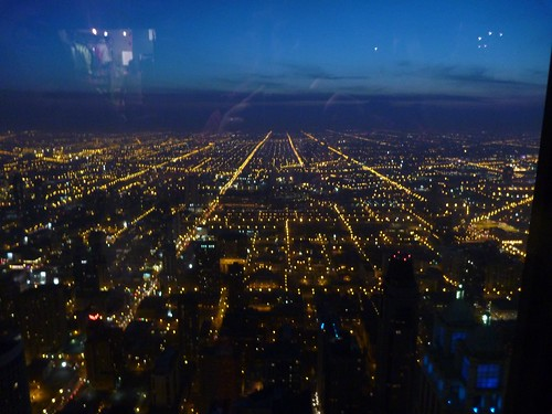 View from Hancock - Straight lines
