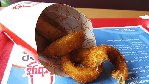 arby's steakhoue onion rings