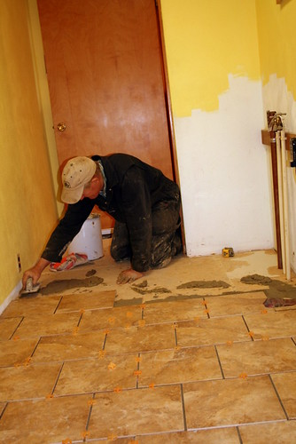 Laying Tile