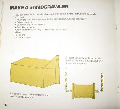 Utinni! Sandcrawler full speed ahead!