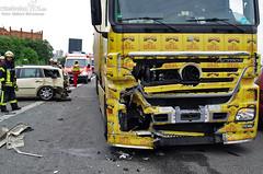 Unfall am Stauende A671 17.05.11
