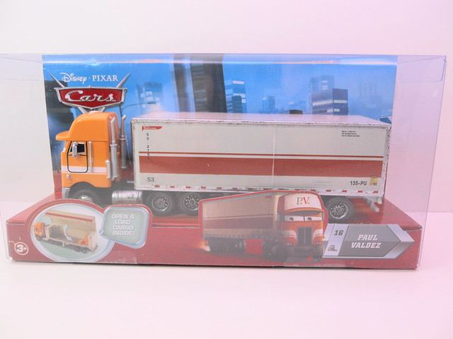 Disney CARS Paul Valdez Hauler (1)