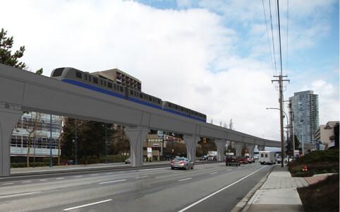 Surrey Rapid Transit Study rendering - 3