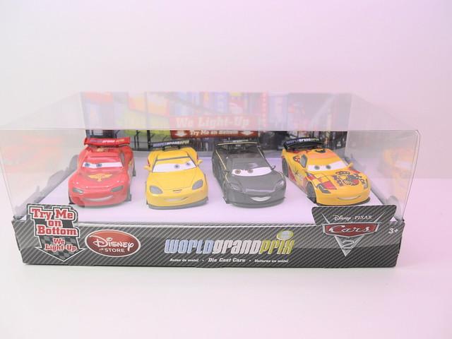 disney store cars 2 world grand prix boxset (1)