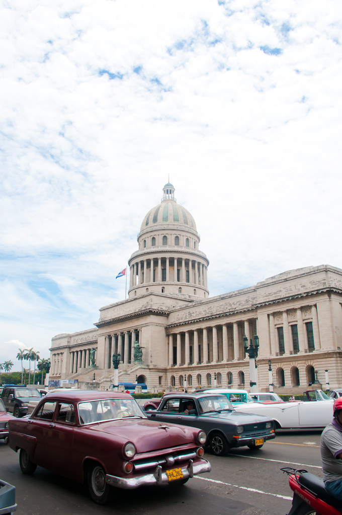 Capital building, Havana