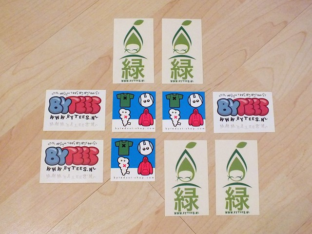 ByteDust Sticker Set 2011