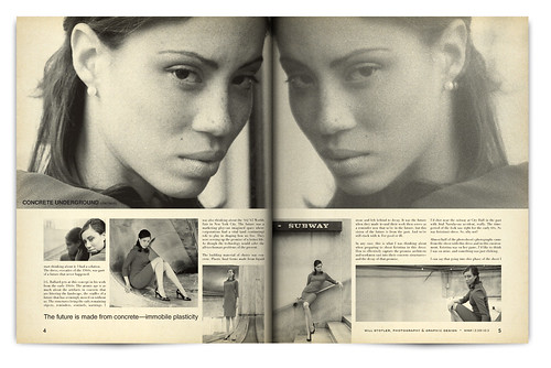 Design Project: LOOK Magazine Spread - pgs. 4 & 5