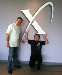Today Ben Parr felt the power of innovation when he visited the X PRIZE offices
