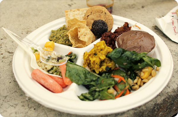 Gathering of the Tribes Potluck Plate