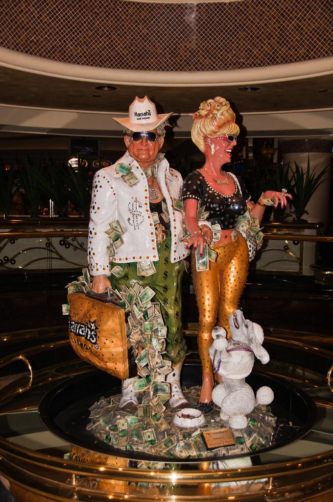 Stereotypical Las Vegas visitors