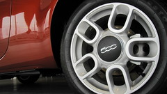 2012 FIAT 500 Pop  15 inch Aluminum wheel