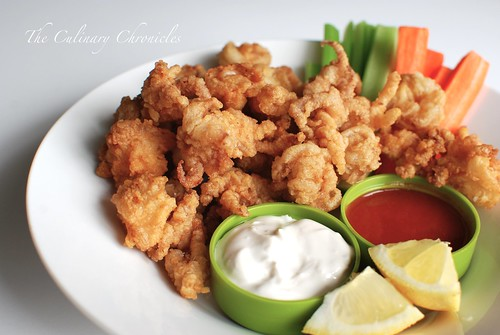 "Fried ""Buffalo"" Calamari"