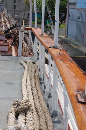 starboard rail