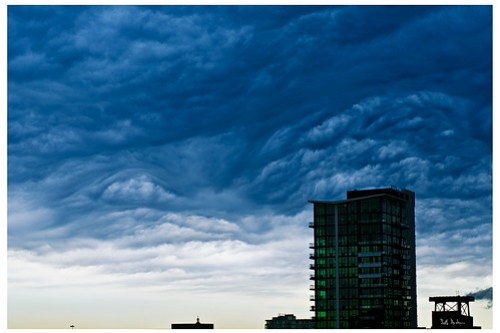 Cloudscape in the West Loop - Number 2196