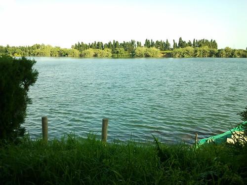 Rio Ebro. Parque Natural del Delta del Ebro