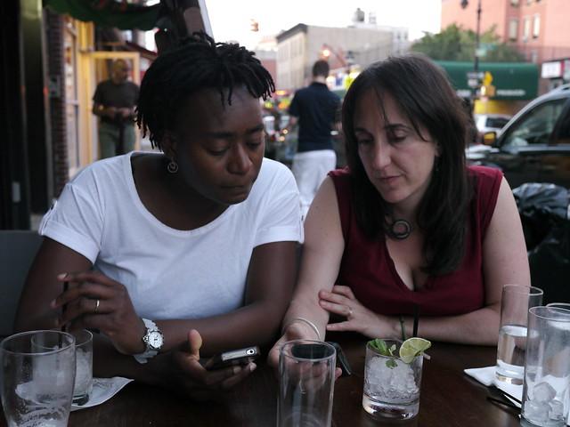 Dueling iPhones