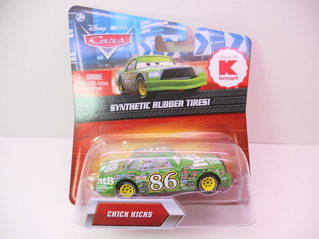 disney cars 2 kmart event 2011 Chick Hicks rubber tires (1)