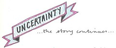 Uncertainty - more work to do