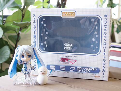 Nendoroid Snow Miku: Snow Playtime Edition