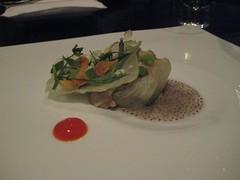 Pork Belly course - Dinner at Grant Achatz's Alinea in Chicago