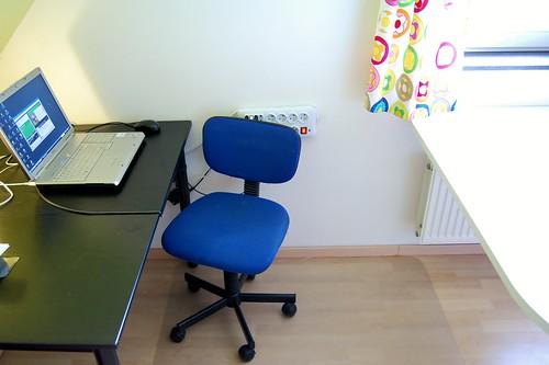 werkruimte voor Nele