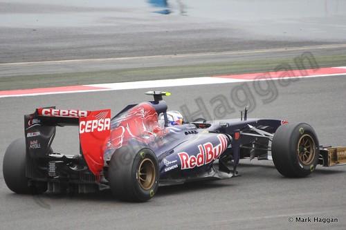 Daniel Ricciardo in Free Practice 2 at the 2013 British Grand Prix