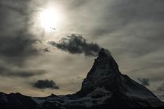 Clouded Matterhorn