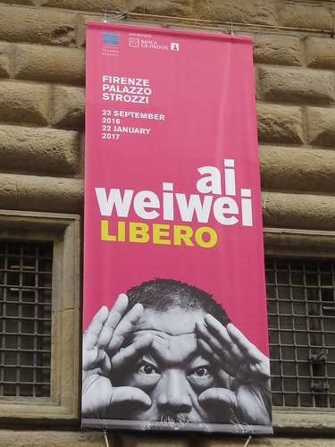 Ai Weiwei a Palazzo Strozzi