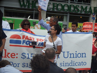Fast Food Strike: Union Square, NYC 29.08.2013