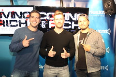 Patrick Heusinger on the Covino & Rich Show