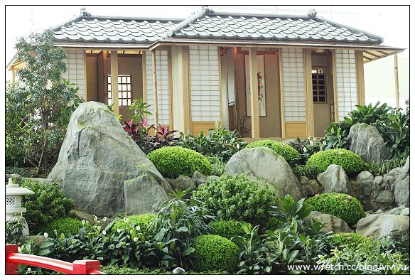 [台北.旅遊]日式和風造景~日式庭院再現 @VIVIYU小世界