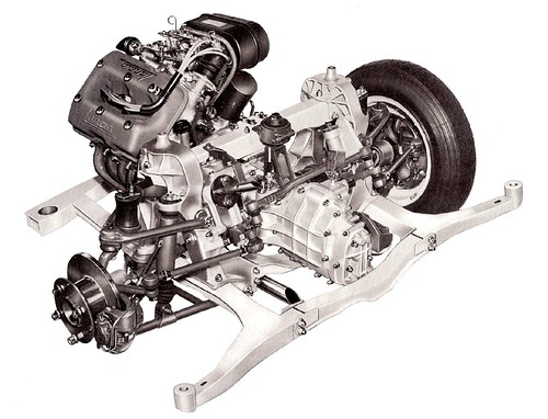 Motore Fulvia 2C