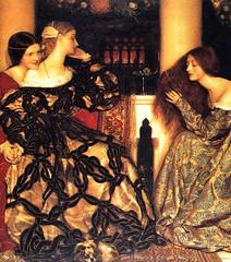 "Frank Cadogan Cowper ""Venetian Ladies Listening to a Serenade"""