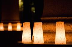 Luminaria at WW Monument