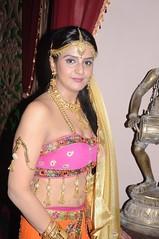 South Actress CHARULATHA Hot Photos Set-2- at Sri Ramanujar film shooting (12)