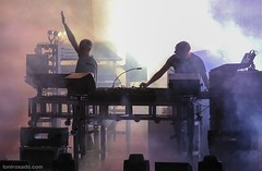 """The Chemical Brothers - Poble Espanyol, Barcelona - 27.10.2016 - 7 - M63C2000 copy • <a style=""""font-size:0.8em;"""" href=""""http://www.flickr.com/photos/10290099@N07/30540449281/"""" target=""""_blank"""">View on Flickr</a>"""