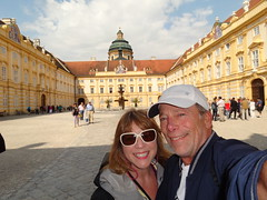 Stift Krems - the courtyard