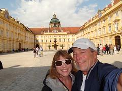 Stift Krems - the courtyard