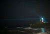 Photo:Inubousaki lighthouse under the full of stars By