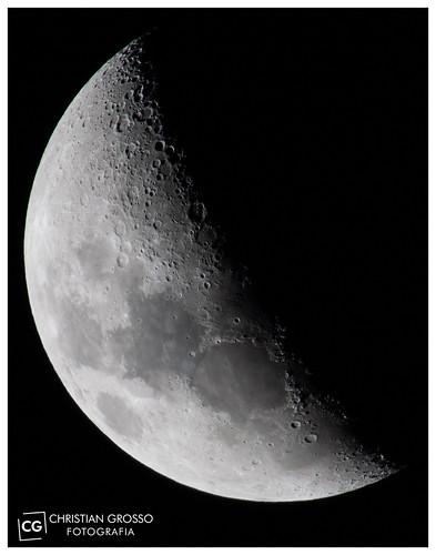"Lunar X - Luna del 15/06/2013 • <a style=""font-size:0.8em;"" href=""http://www.flickr.com/photos/20681585@N05/9052868805/"" target=""_blank"">View on Flickr</a>"