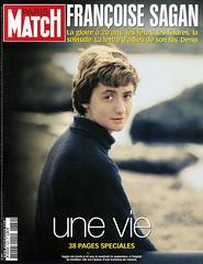 COUVERTURE DU PARIS MATCH N°2889 : FRANCOISE S...